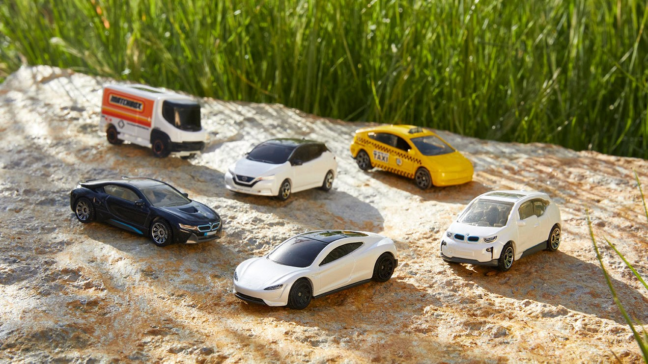 Matchbox goes green with new range of sustainable toy EVs