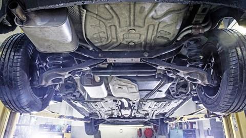 Ford Focus Mk1 underneath