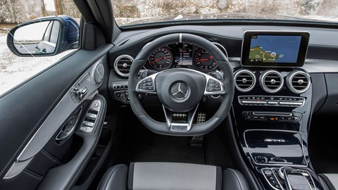 Mercedes C63 S saloon review: Executive looks with supercar ...