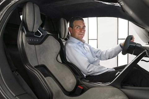 Lotus Cars managing director Matt Windle