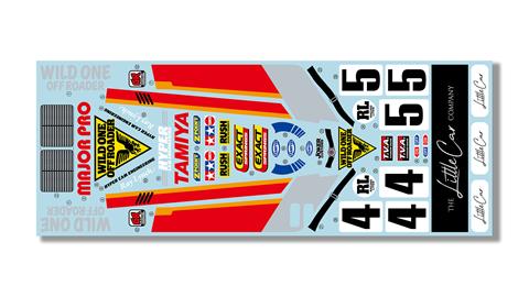 Tamiya Wild One Max - stickers