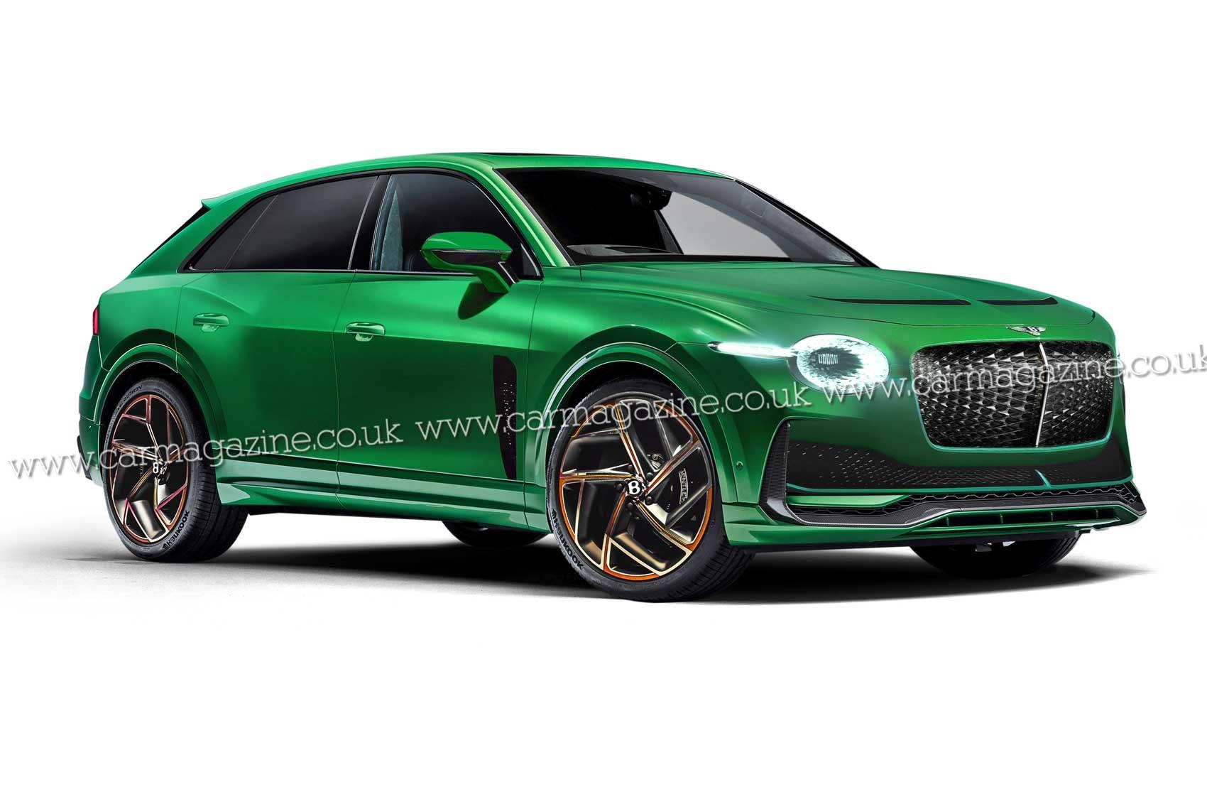 Electro-luxe: Bentley's 2025 EV scooped