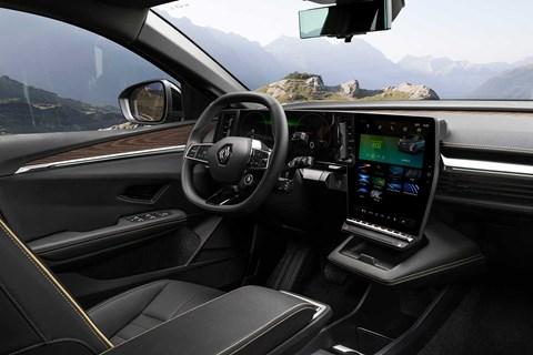 megane etech electric interior