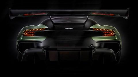 The outrageous Aston Martin Vulcan's rear wing