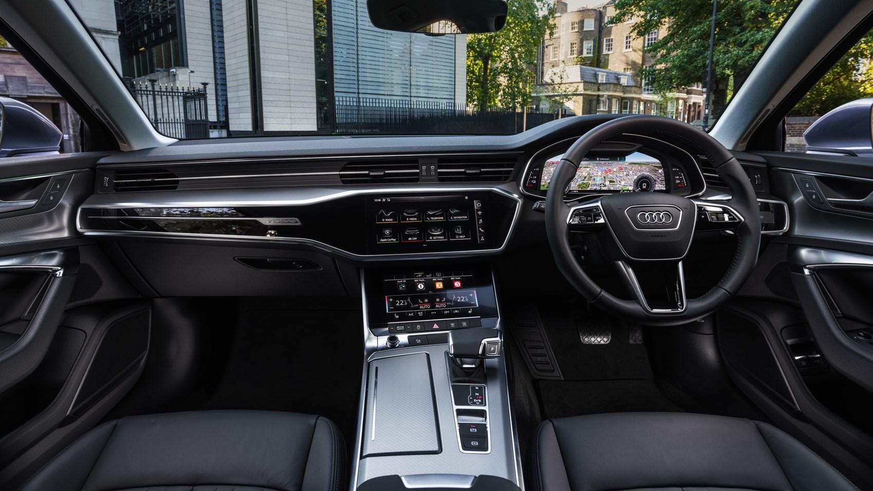 a6 hybrid interior