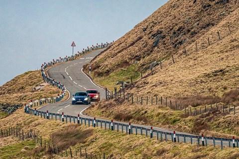 c63 giulia downhill