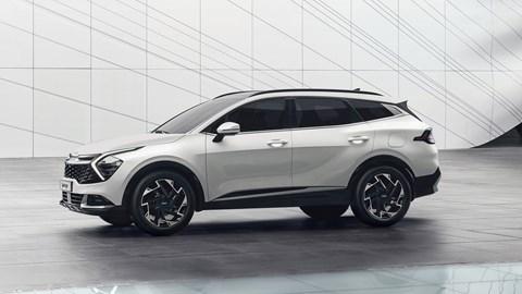 2021 Kia Sportage styling, profile