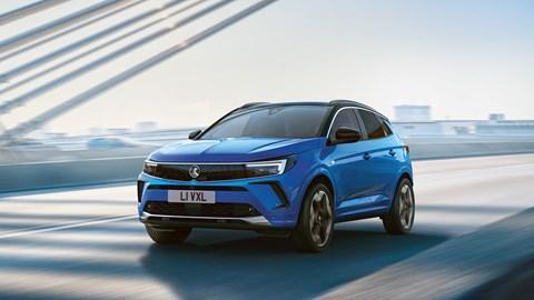 2021 Vauxhall Grandland gains bold new Vizor styling