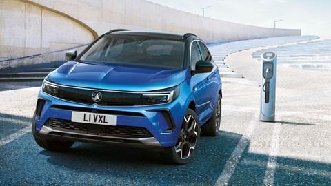 2021 Vauxhall Grandland plug-in hybrid charging