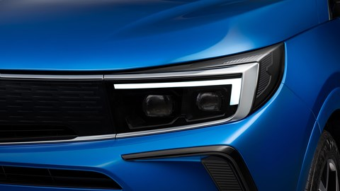 2021 Vauxhall Grandland Vizor IntelliLux headlight