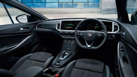 2021 Vauxhall Grandland interior