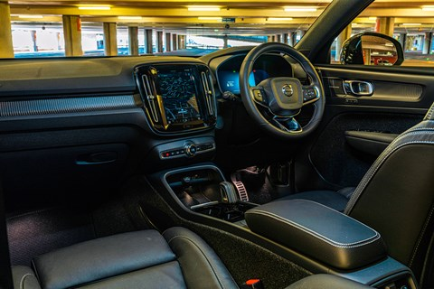 xc40 interior
