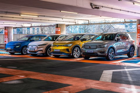 electric suv group static