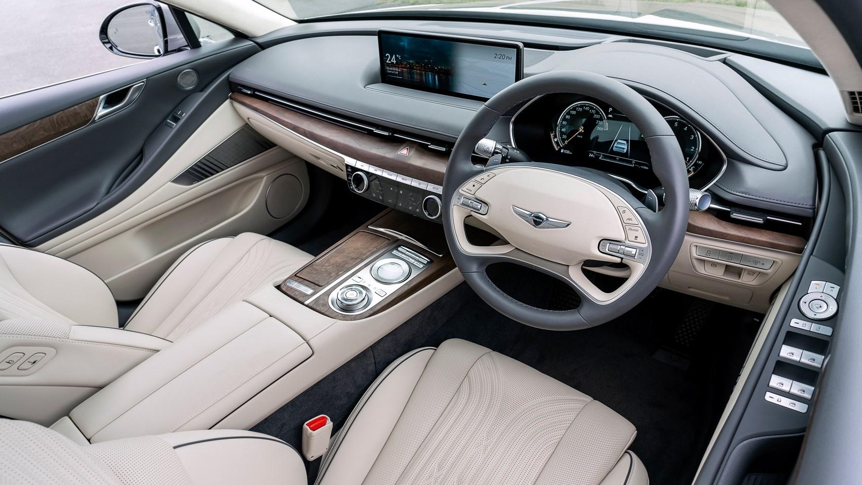 genesis g80 interior