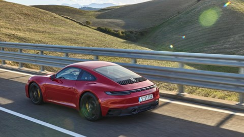 Porsche 911 GTS rear view