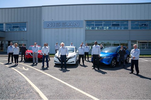 PM Boris Johnson visited Nissan's factory as it announced its gigafactory investment