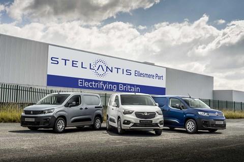 Liverpool's Ellesmere Port plant will build electric vans for Vauxhall, Citroën and Peugeot