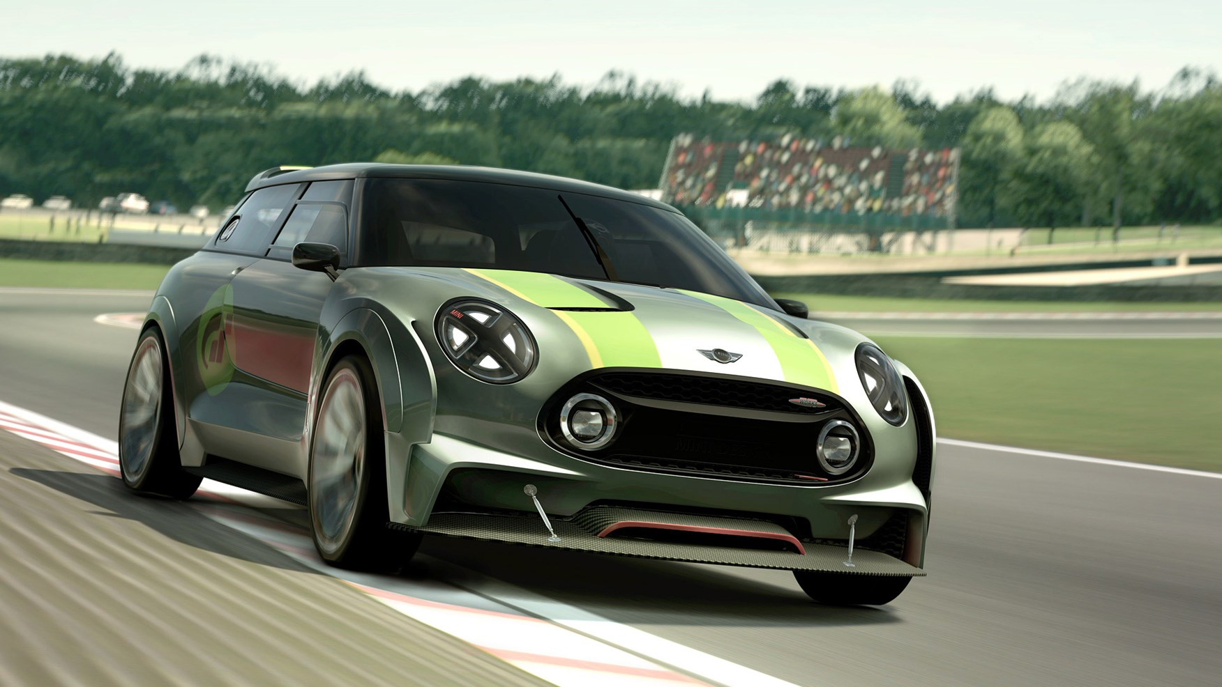 Mini\'s wild wagon: Mini Clubman Vision Gran Turismo unveiled by ...