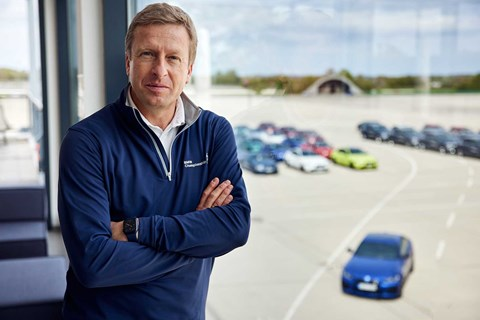 BMW CEO Oliver Zipse is a big believer in sustainability