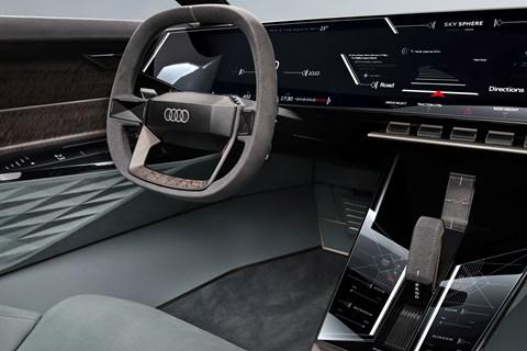 skysphere steering wheel