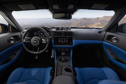 New Nissan Z interior