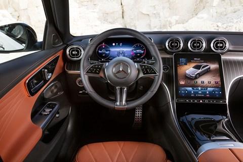 c-class all-terrain interior