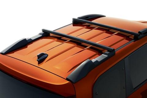 jogger roof rails