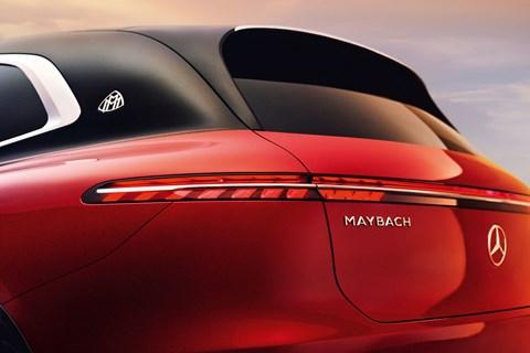 maybach eqs rear