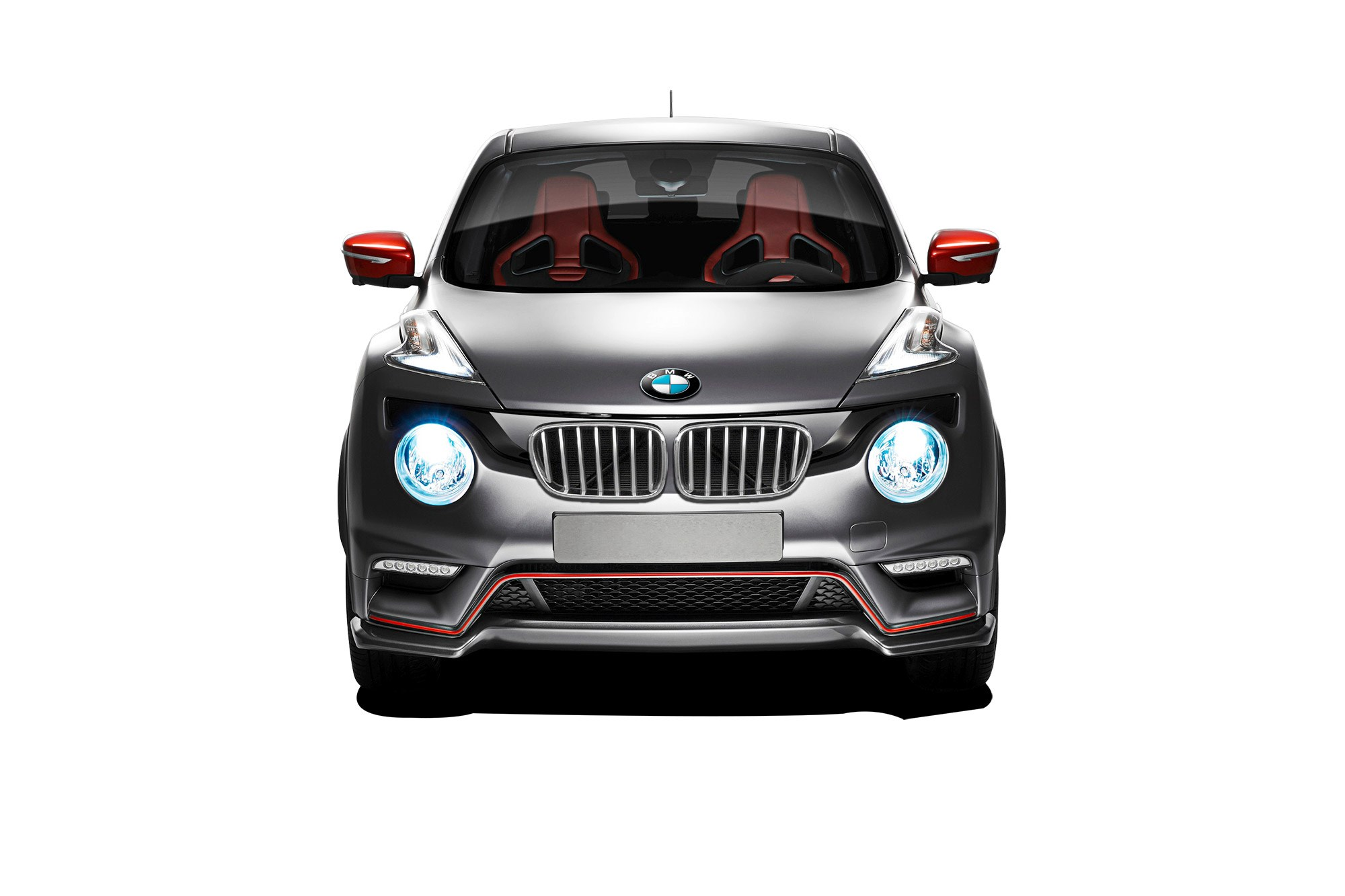 bmw guns for the juke 1 series sportcross coupe coming in. Black Bedroom Furniture Sets. Home Design Ideas