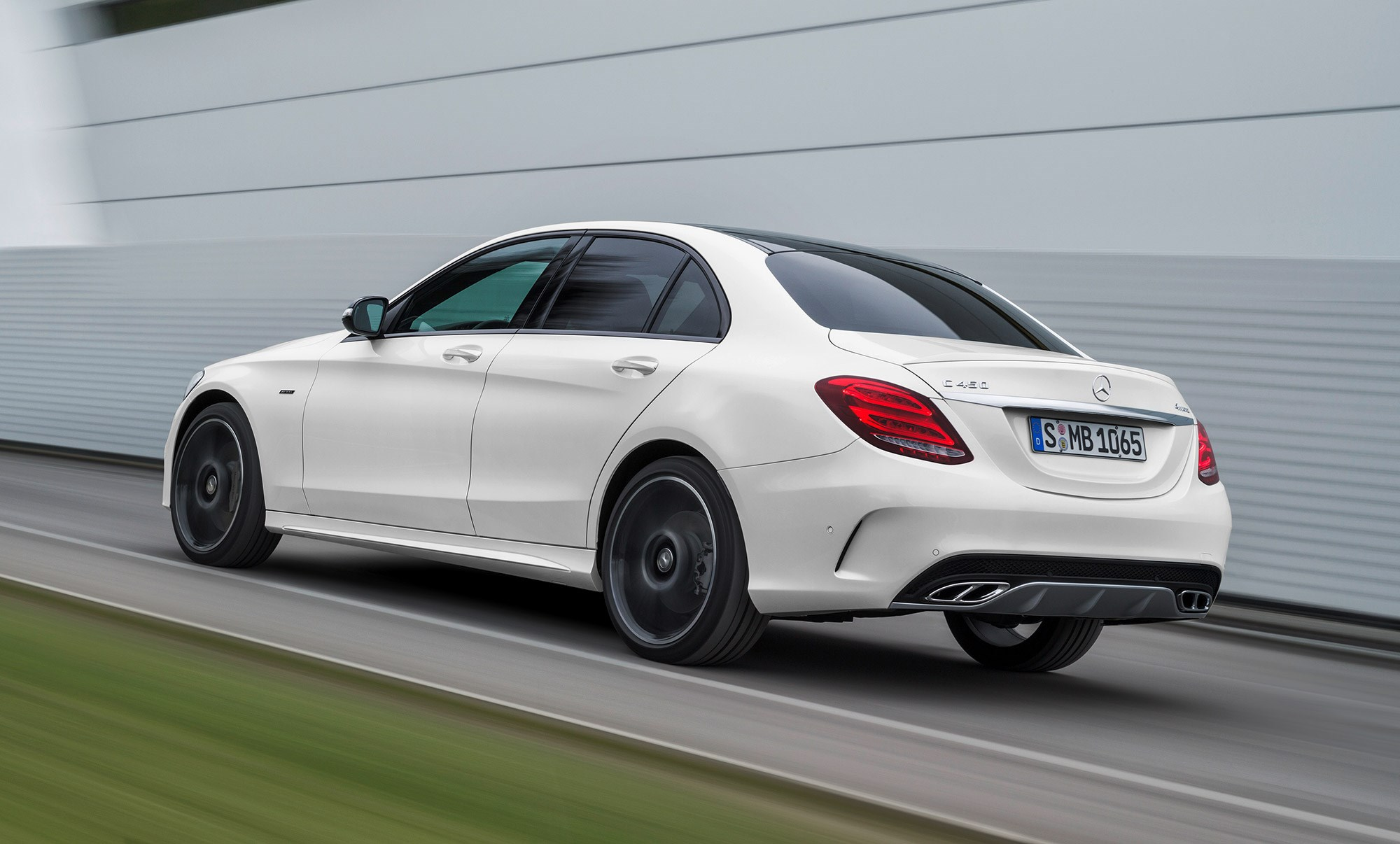 Mercedes c450 amg 4matic 2015 review by car magazine for Mercedes benz insurance cost