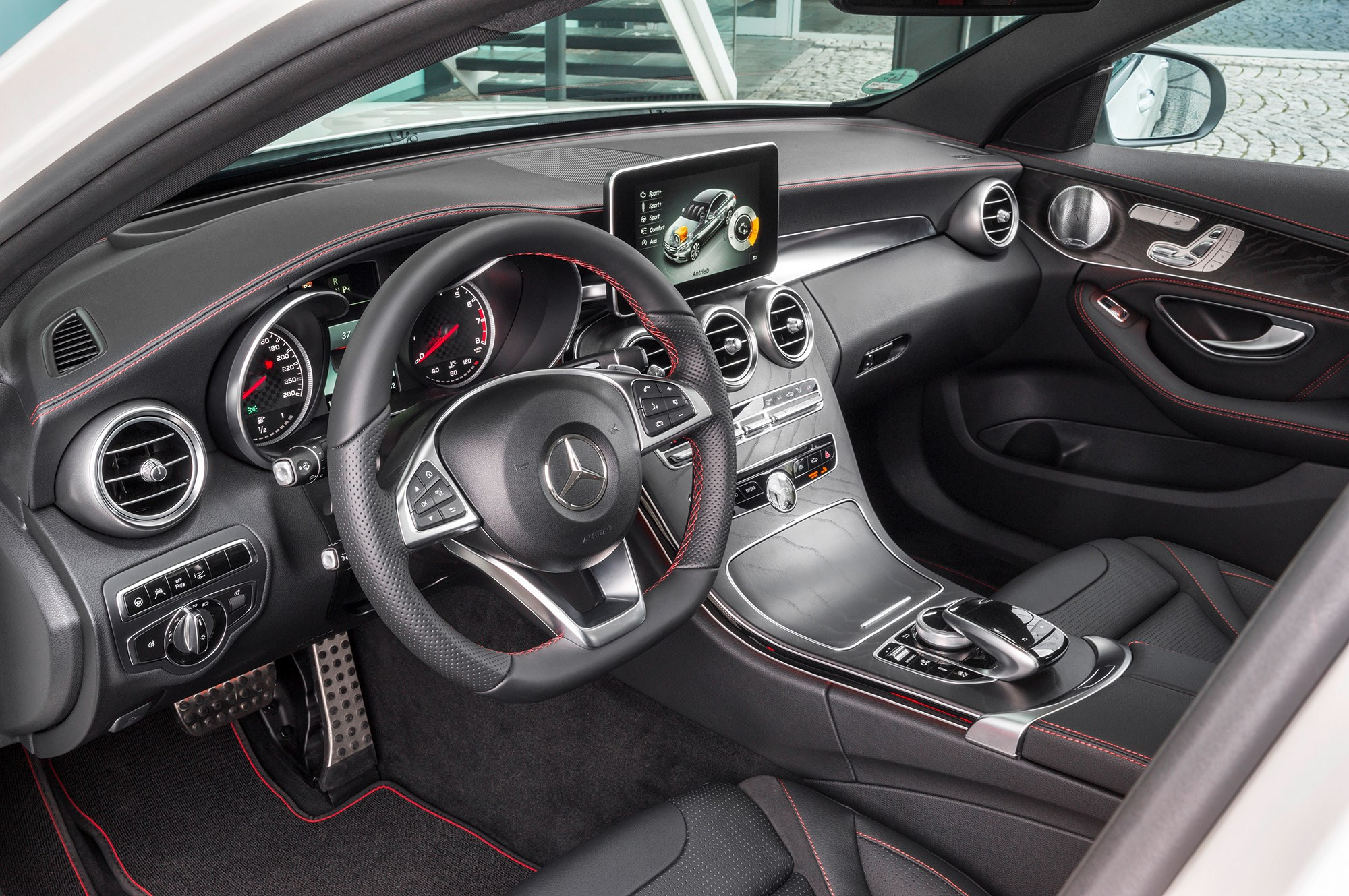 Mercedes C450 AMG 4Matic (2015) review by CAR Magazine