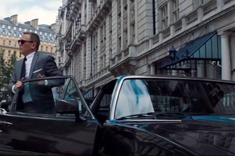 Bond's other Aston, the V8 Vantage