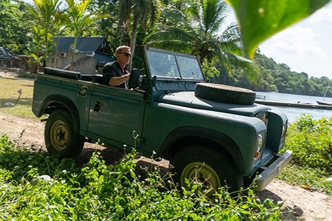Land Rover Series III in No Time To Die