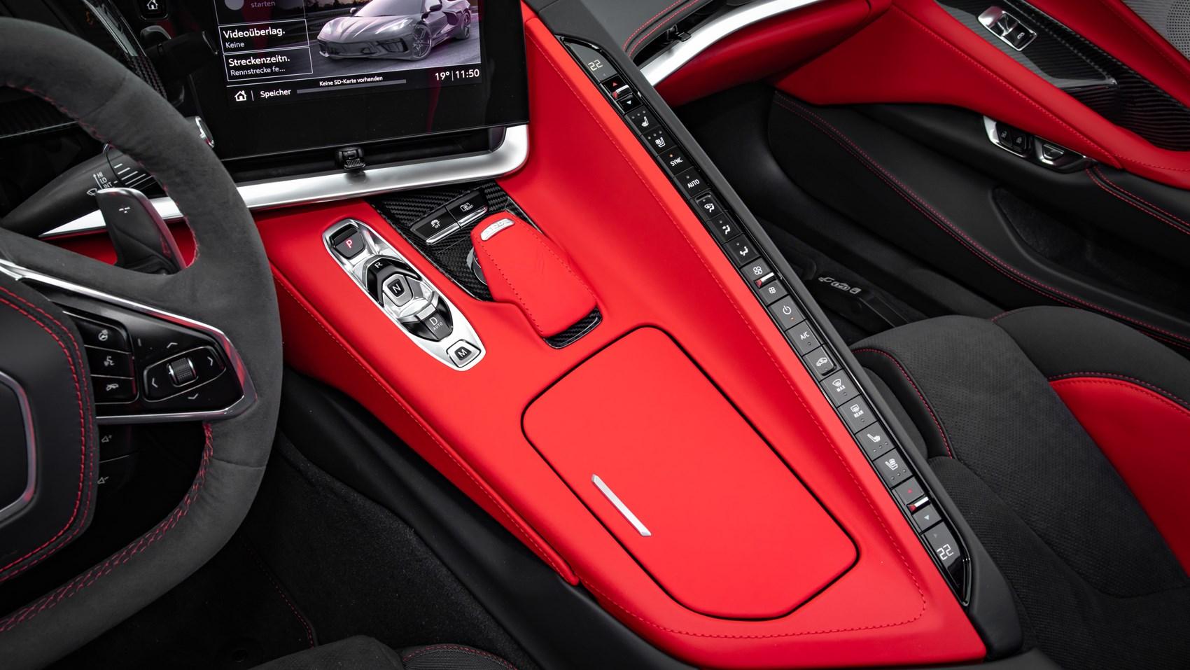 corvette centre console