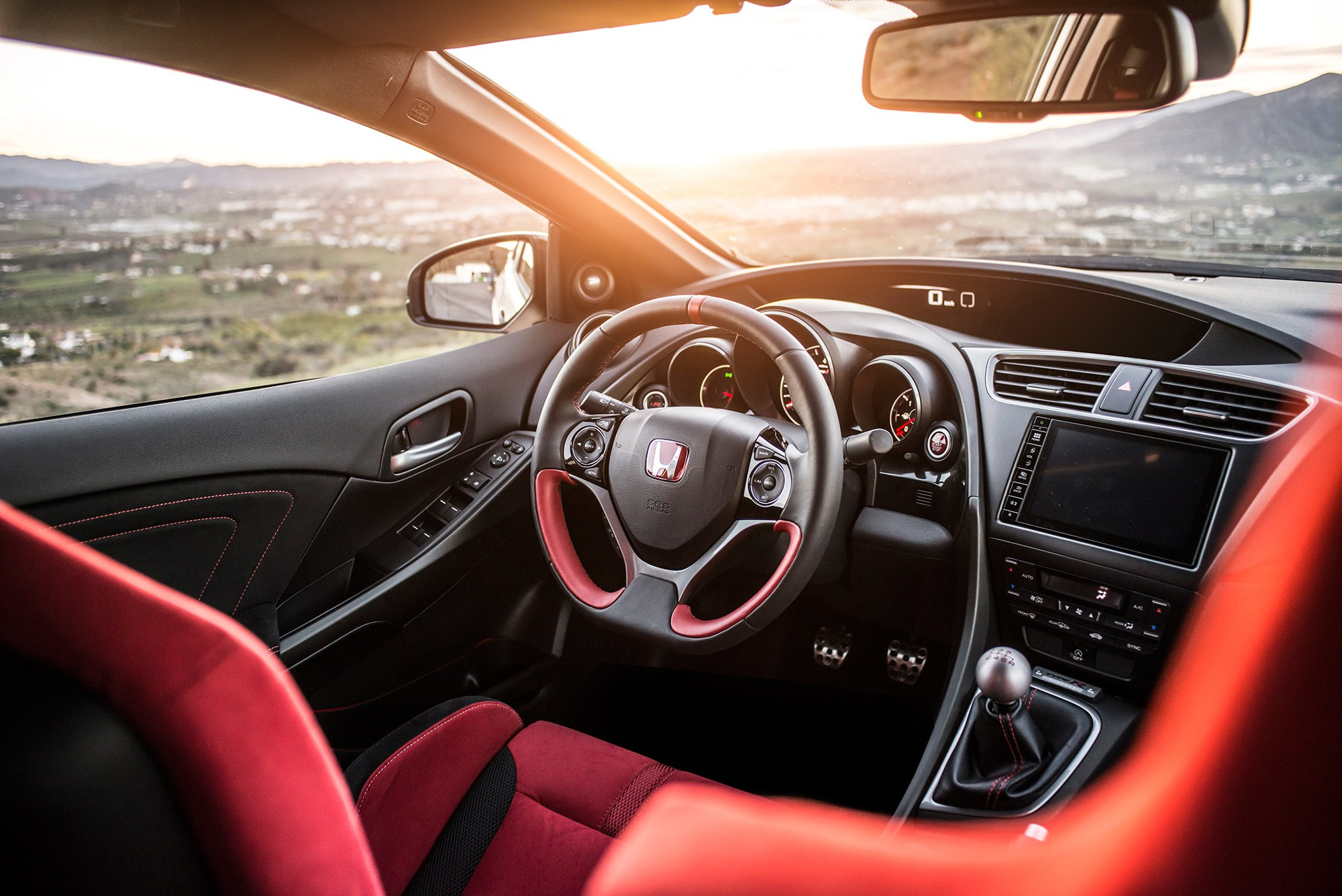 Has the new 29 995 2015 honda civic type r been worth the for Honda type r interior