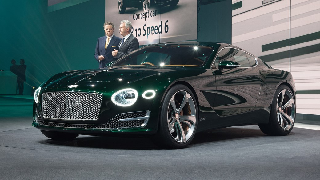 Now Thats More Like It Bentley EXP Speed Points To New Two - Show me a bentley car