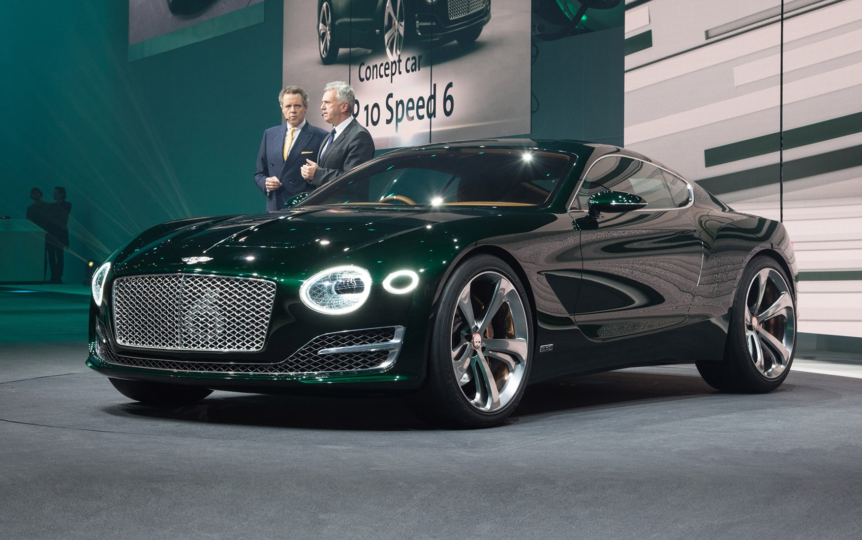 Now that's more like it! Bentley EXP 10 Sd 6 points to new two ...