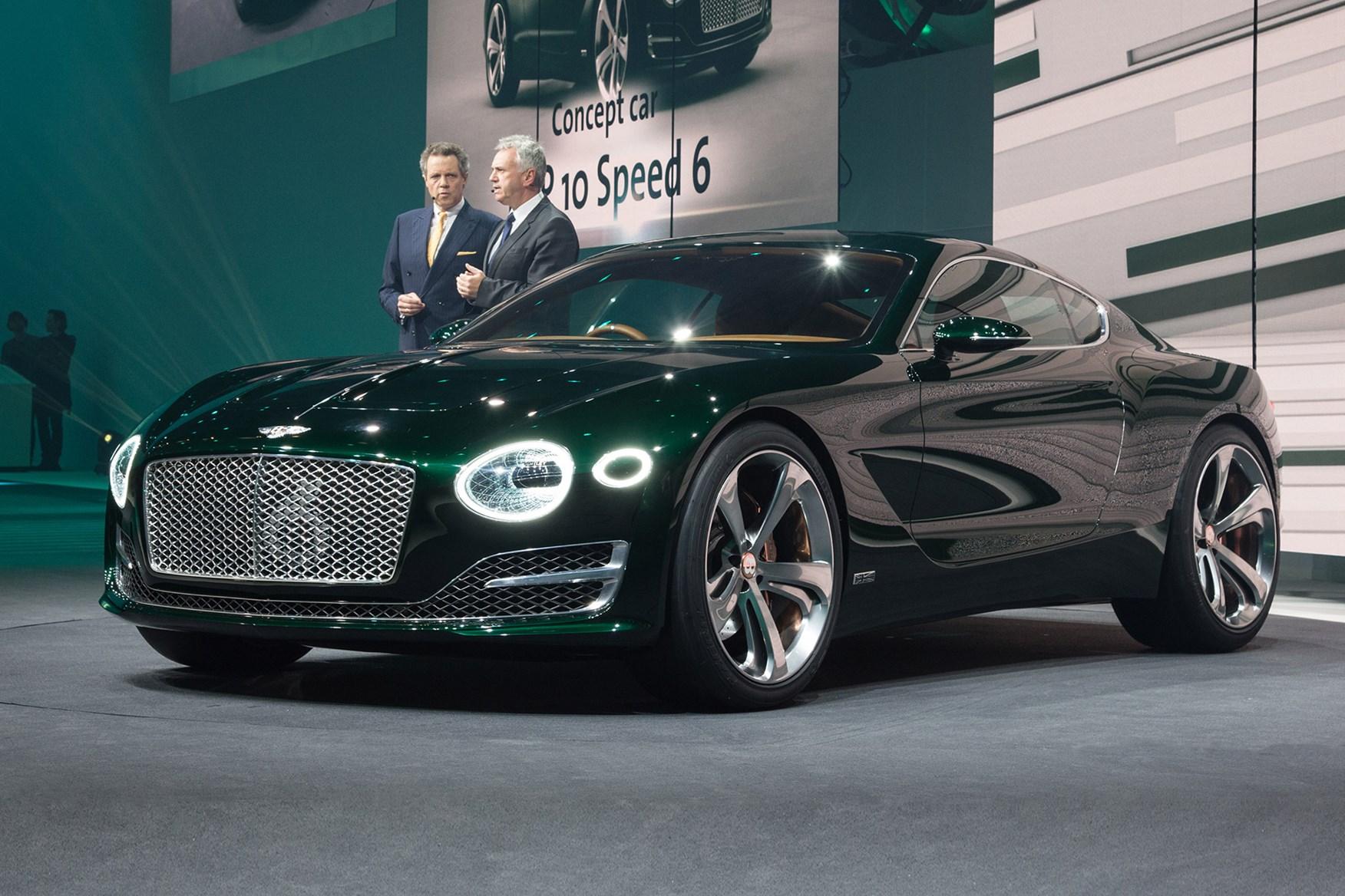 Bentley Top Brass Reveal The EXP 10 Speed 6 At Geneva