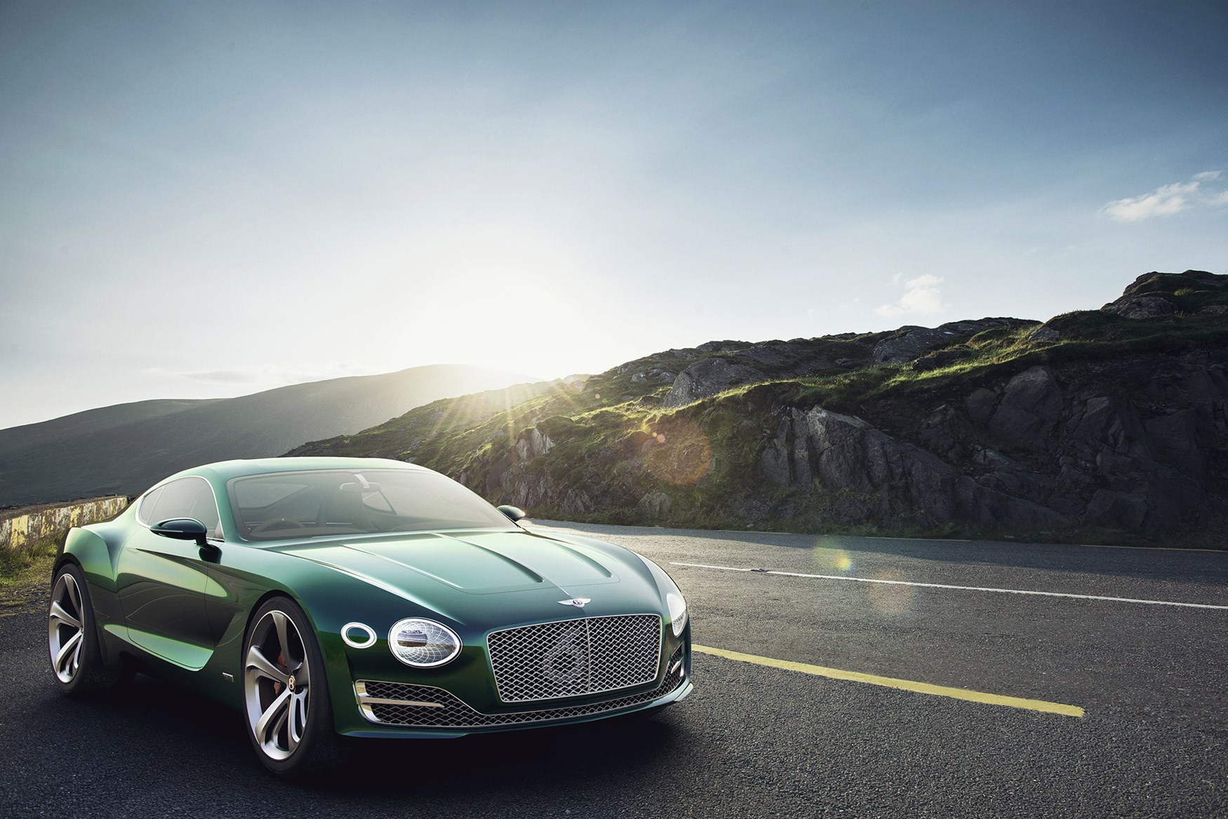 Even The Exhausts Have Had A Makeover On New Bentley Concept Car