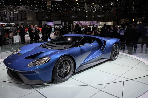 Ford GT makes its European debut