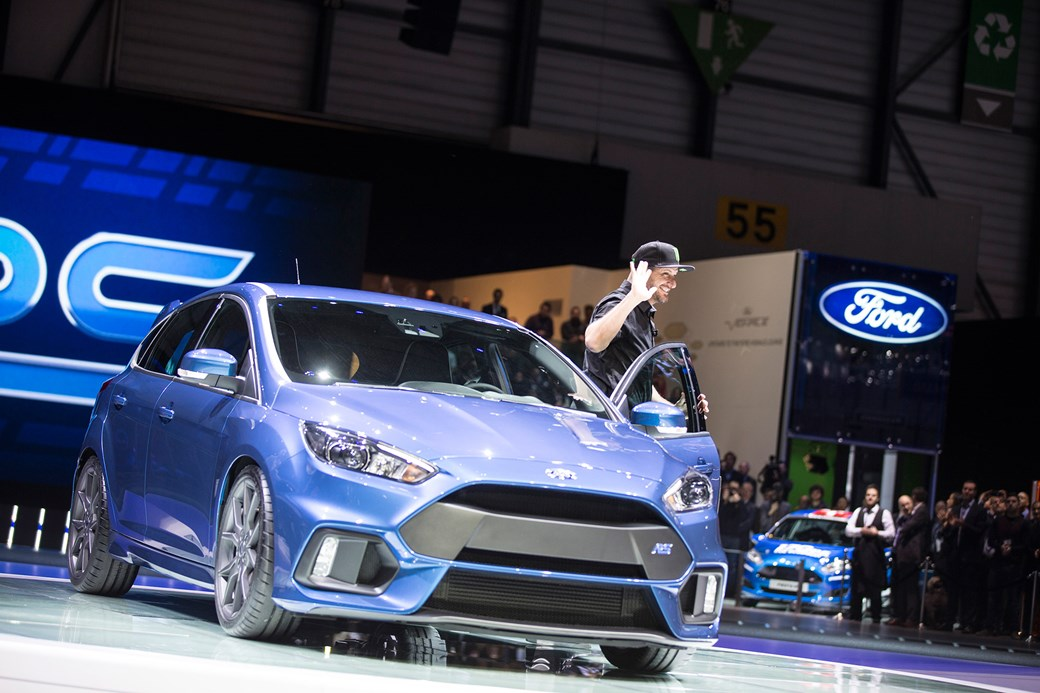 Ken Block Drives The Focus Rs On To Stage In Geneva