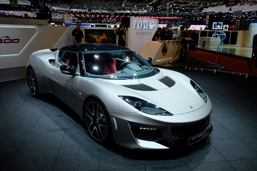 Lotus Evora 400 At Geneva 2017