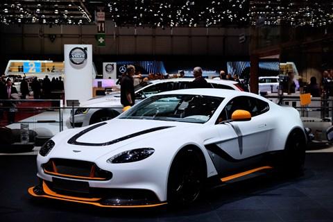 Aston Martin Vantage GT3 at Geneva 2015