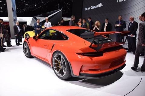 Porsche 911 GT3 RS at Geneva 2015