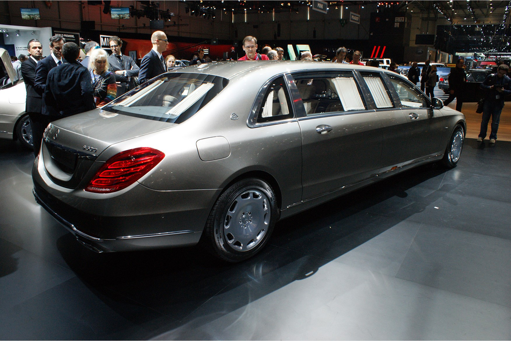 2018 mercedes maybach pullman. Contemporary Maybach The MercedesMaybach Pullman S600 At Geneva At 65 Metres Long This Is An  Exceptionally Roomy Car Intended 2018 Mercedes Maybach Pullman