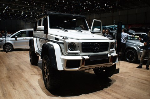Mercedes G500 4x4 'squared'