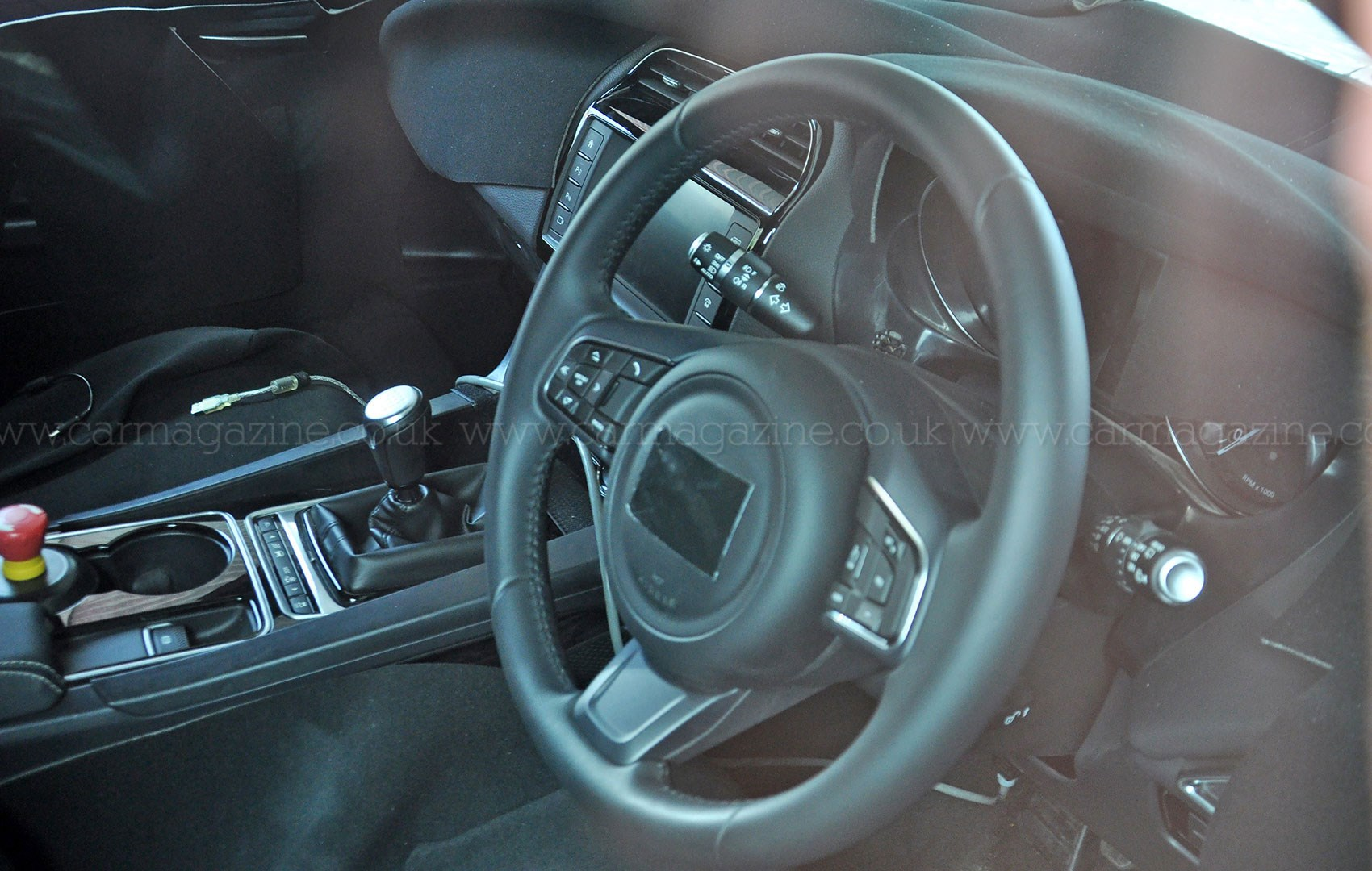 Jaguar F Pace Prototype Interior ...