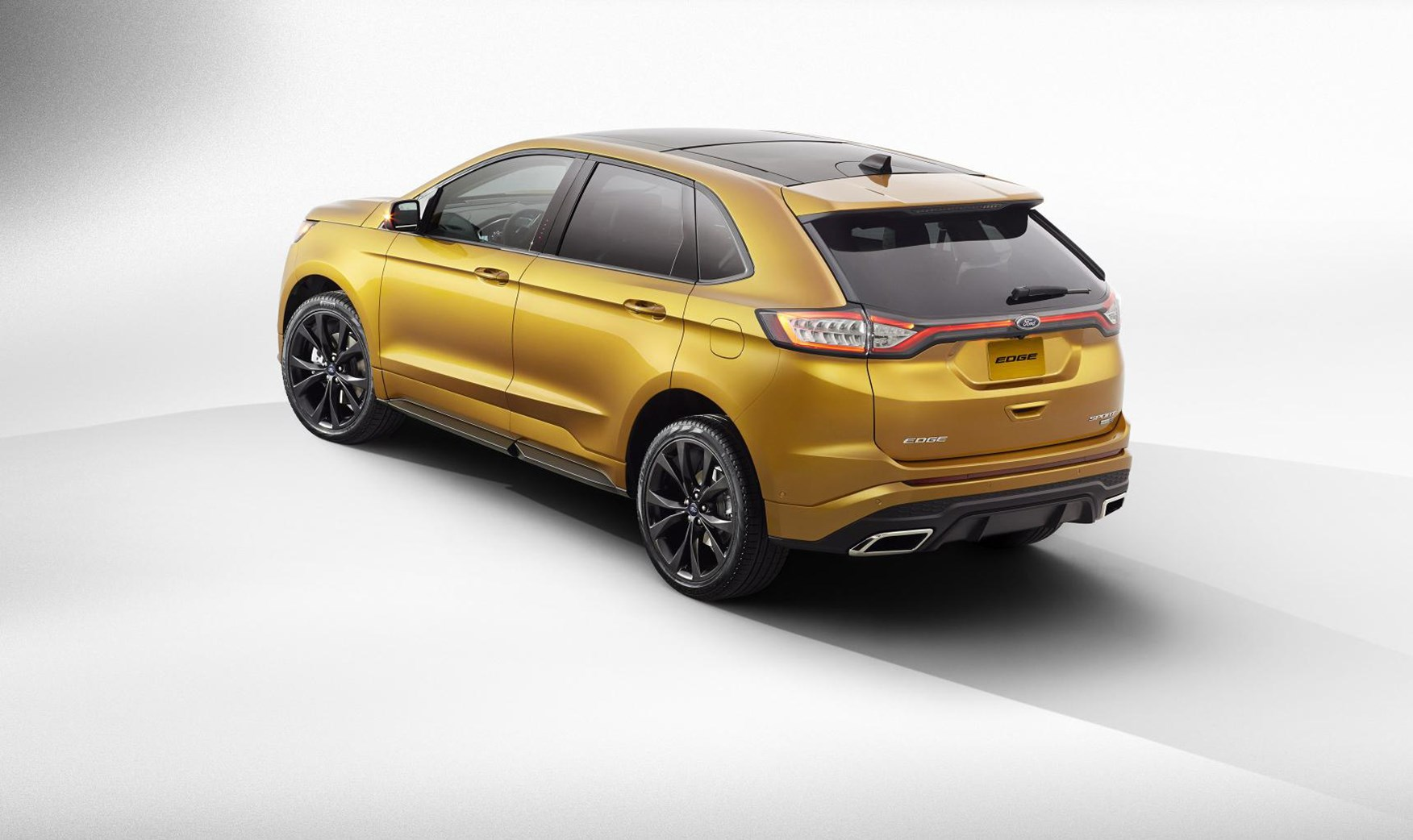 Smoked Alloys And Rectangular Exhaust Finishers For New Ford Edge Sport