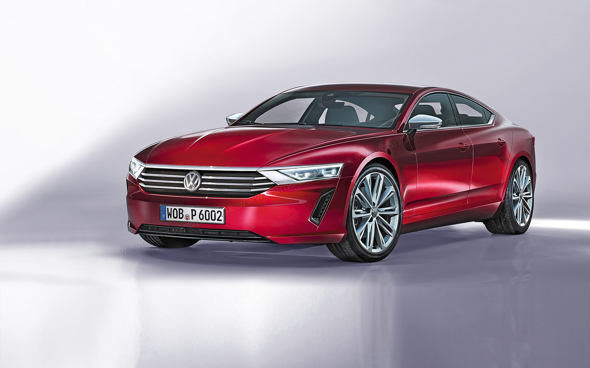 The New Vw Super Pat Artist S Impression By Auto Bild Larson