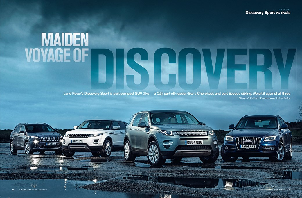 Land Rover Discovery Sport Vs Audi Q5 Jeep Cherokee Range